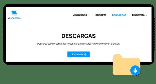 crear zona de descargas wordpress