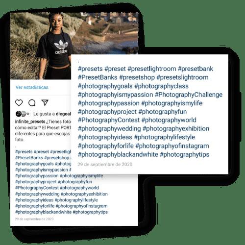 hashtag publicacion instagram